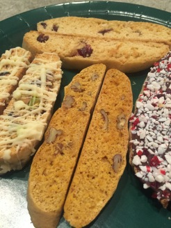 An array of biscotti